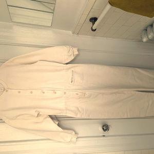 Banana Republic apres-ski soft cotton overall S